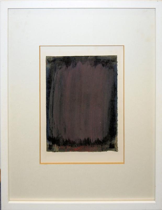 0198 Lothar Quinte Farbraumbild Gouache Von 1962 Gerahmt K K Auktionen In Heidelberg