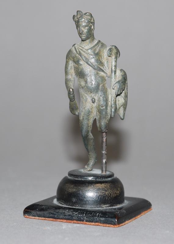 Bronzeplastik Gott Merkur, römisch, ca. 1.-2. Jh. n. Chr.
