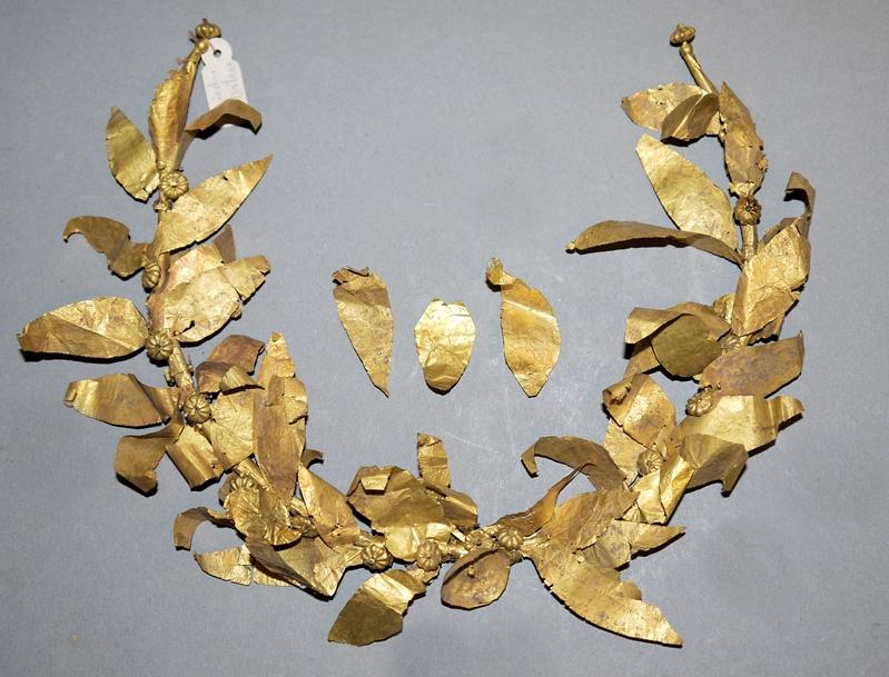 Diadem/Olivenkranz aus Gold, hellenistisch, 4.-3. Jh. v. Chr.